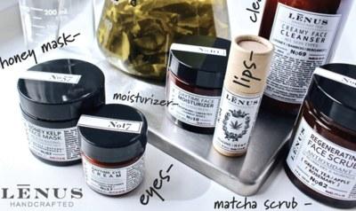 Free LĒNUS Handcrafted Skincare Samples