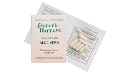 Free Sample of Aloe Vera Capsules