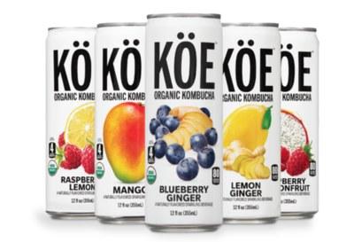 Free Sample of KÖE Organic Kombucha®