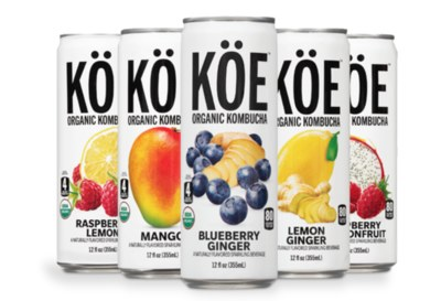 Free Sample of KÖE Organic Kombucha®