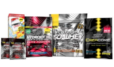 Free Samples and Swag from MuscleTech