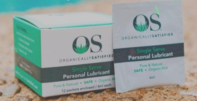 Free Lubricant Sample from Organically Satisfied