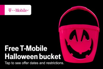 Free Halloween Bucket from TMobile