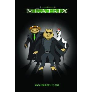 DVD copy of The Meatrix