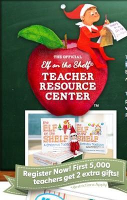 Free Elf on the Shelf® classroom kit for Teachers