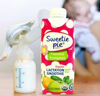 Free Sweetie Pie Organics Lactation Smoothie-(breastfeeding moms)