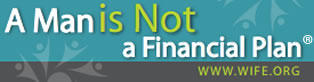 A Man is not a Financial Plan bumper sticker