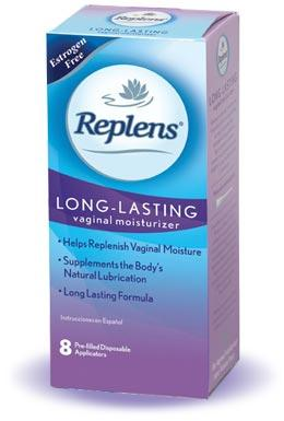 Free sample of Replens Long-Lasting Vaginal Moisturizer
