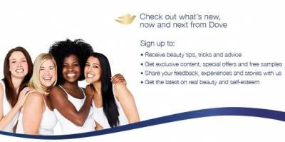 Free Samples from Dove