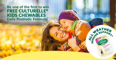 FREE package of Culturelle® Kids Chewables Daily Probiotic Formula