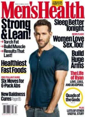 One year complimentary subscription of Men's Health magazine