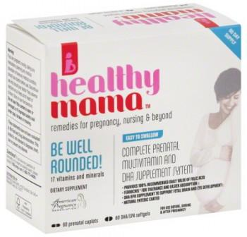 Free Be Well Rounded Prenatal Vitamin Sample