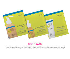 Free Samples from Juice Beauty