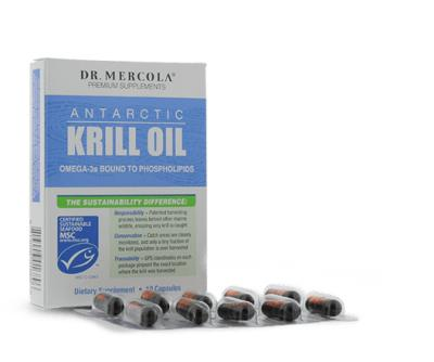 Free Dr. Mercola's Unique Antarctic Krill Oil Sample