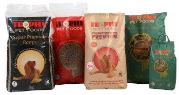 Free sample of Trophy Pet Foods