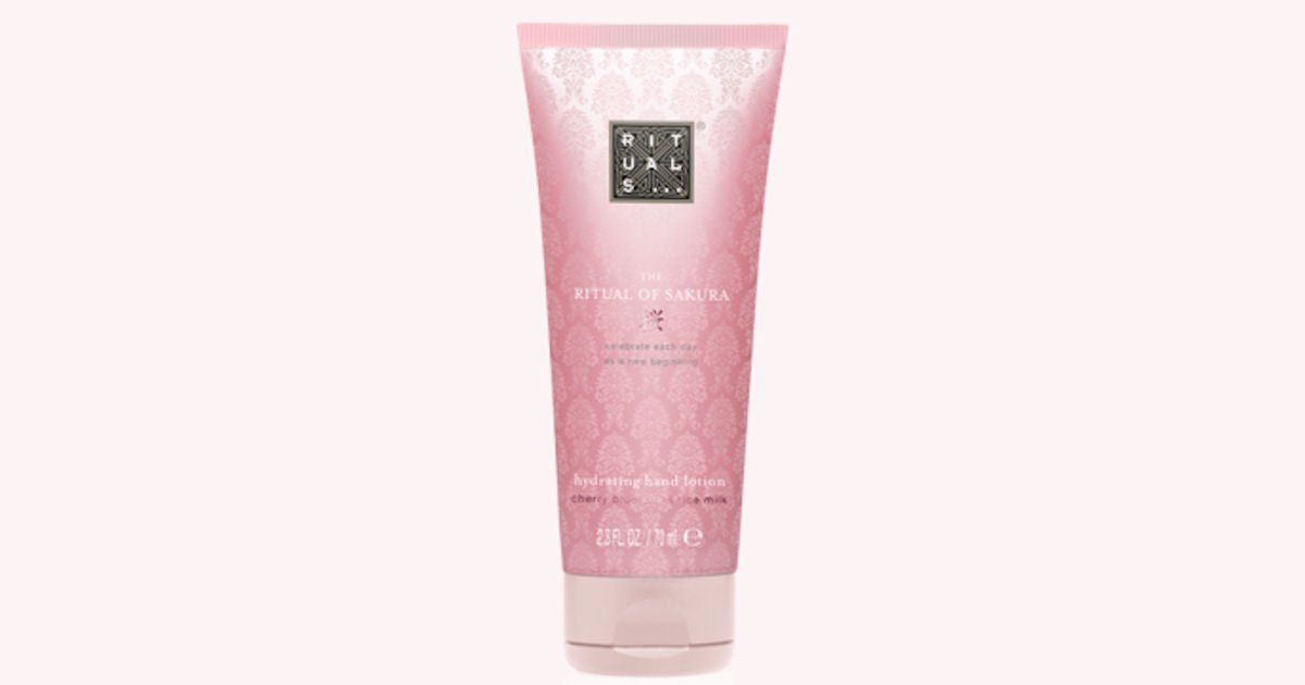 Free Sample of Rituals Hand Lotion