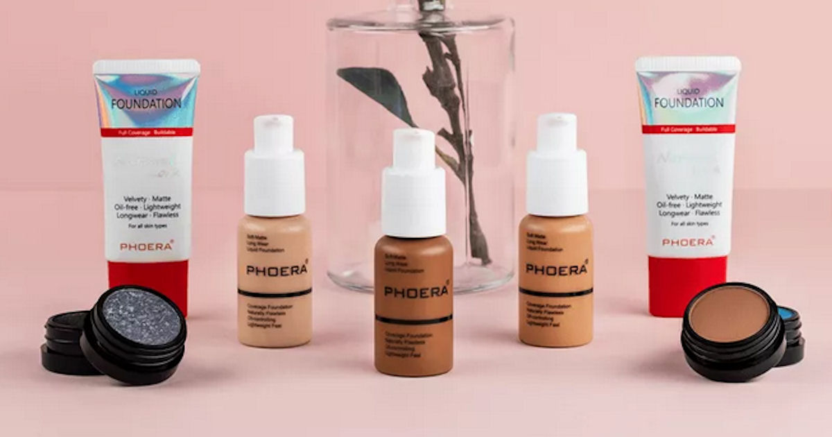 Free Phoera Liquid Foundation