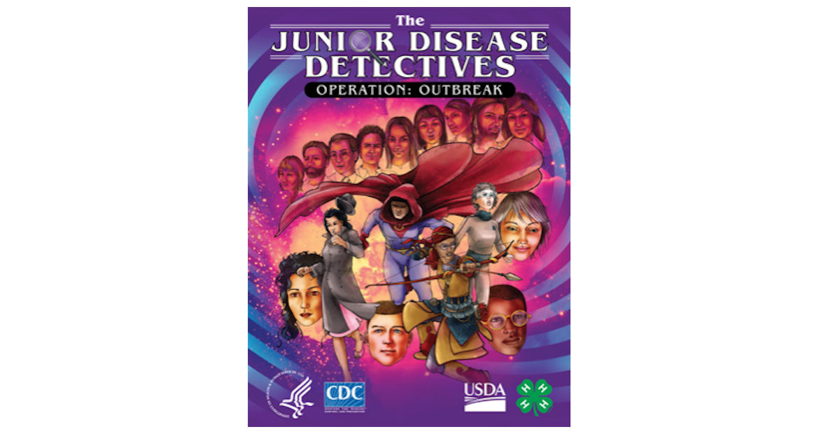 Free The Junior Disease Detectives Graphic Novel