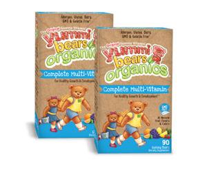 Free Yummi Bear Organics Complete Multi-Vitamins with Moms Meet