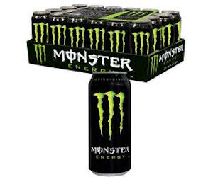 Register in Hess Express App for a Free Can of Monster Energy