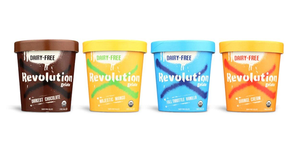 Free Revolution Gelato Organic Dairy-Free Gelato