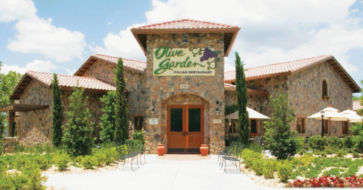 Free Appetizer or Dessert at Olive Garden