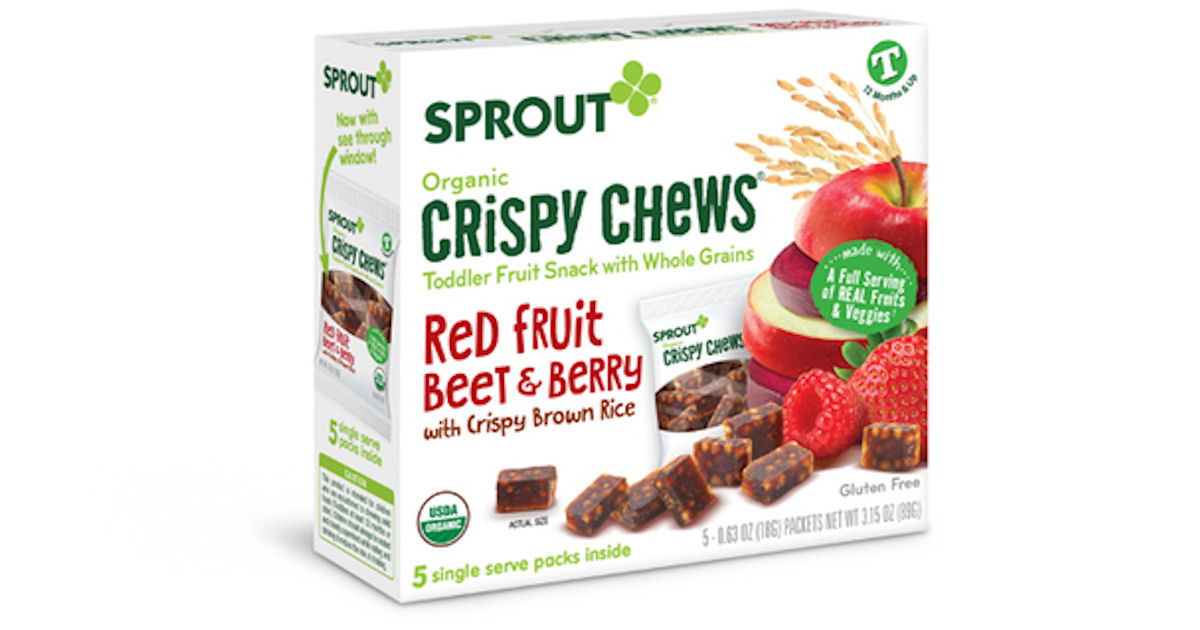 Free Sprout Red Fruit Beet & Berry Organic Crispy Chews