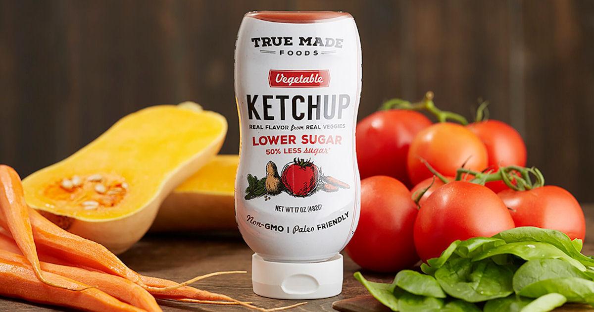 Free True Made Foods Low Sugar Vegetable Ketchup