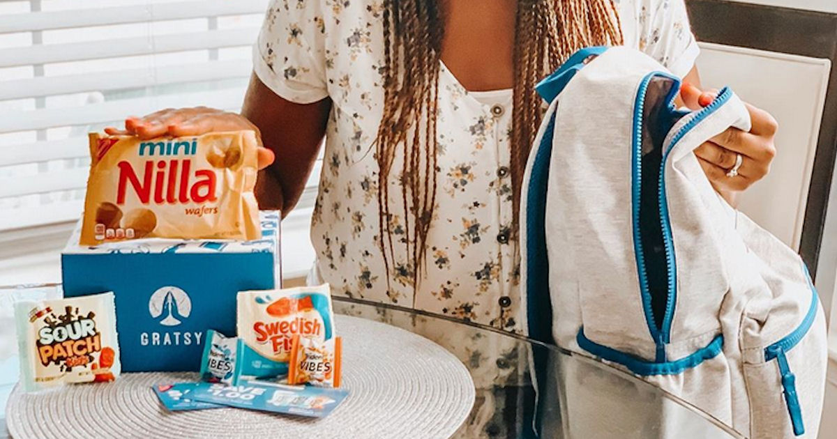 Free Gratsy Summer Road Trip Snack Box