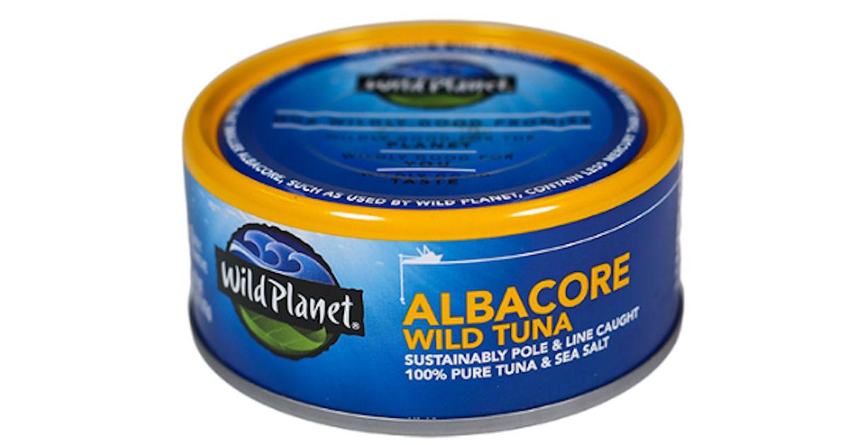 Free Wild Planet Albacore Wild Tuna