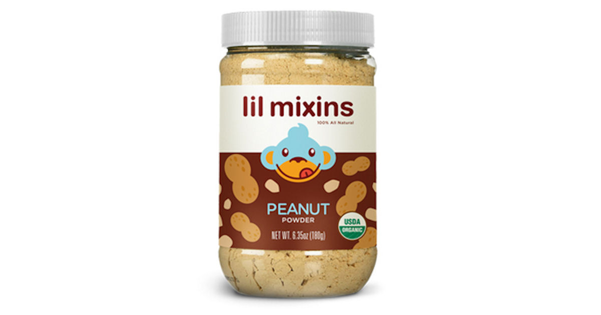 Free Lil Mixins Infant Peanut Powder