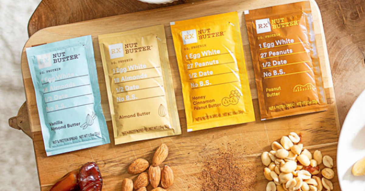 Free Sample of RX Nut Butter