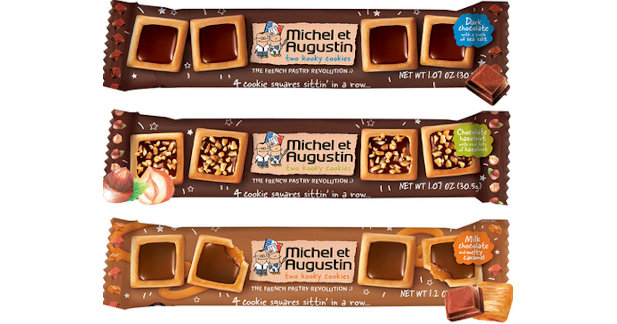 PINCHme - Possible Free Michel et Augustin Cookie Squares