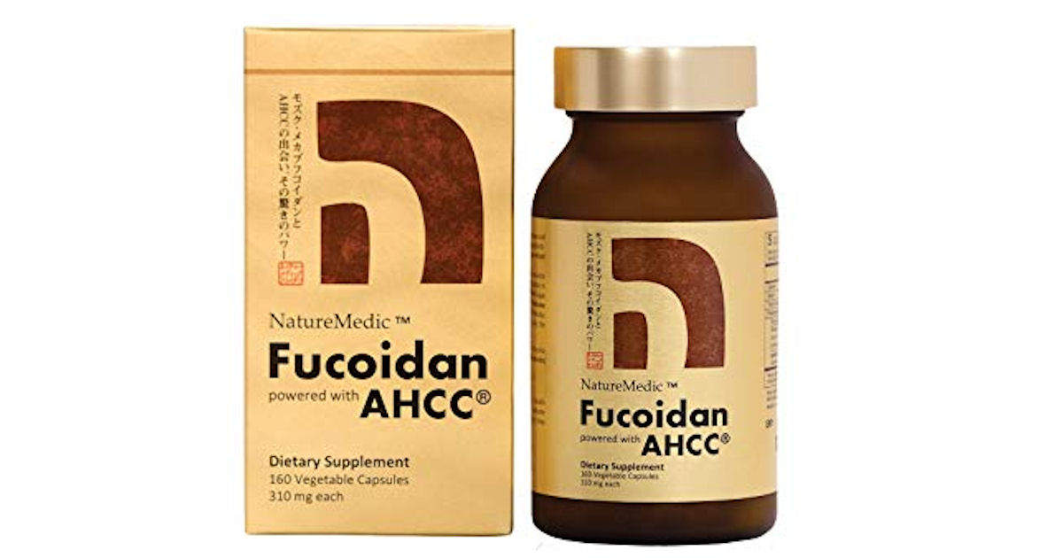 Free Sample of NatureMedic Fucoidan Supplements
