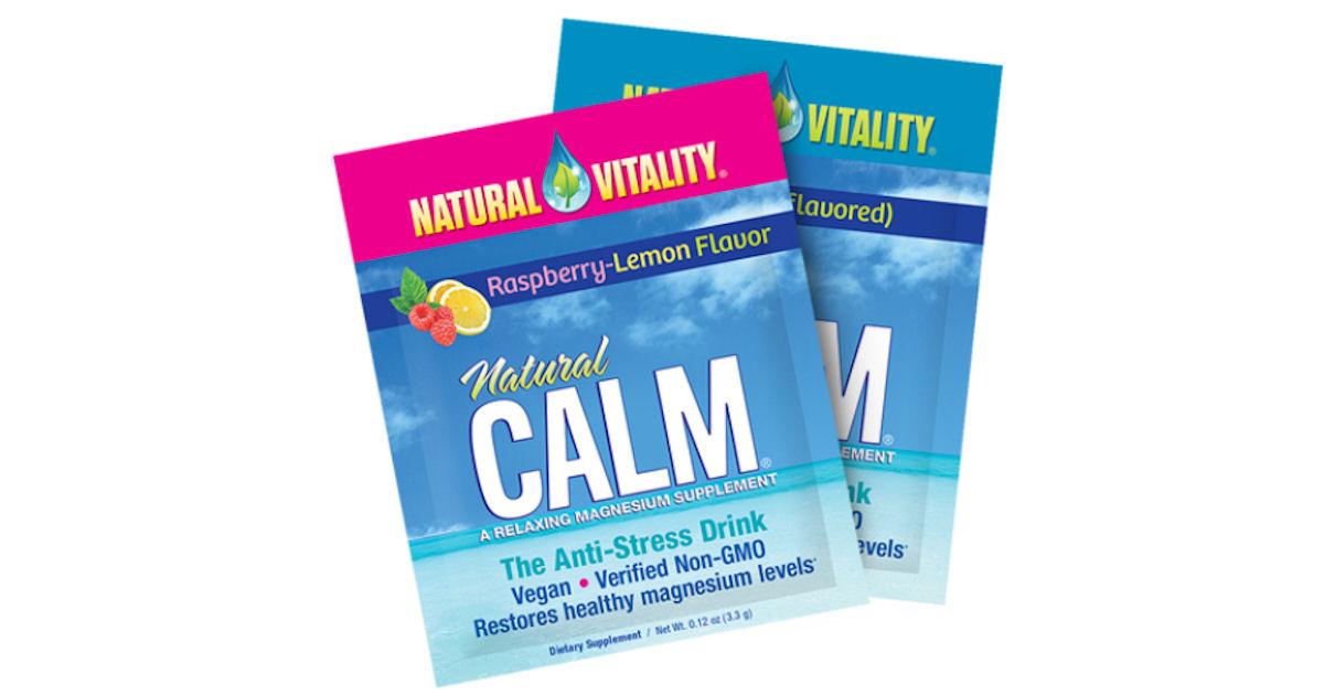 Free Sample of Natural Vitality Natural Calm Drink