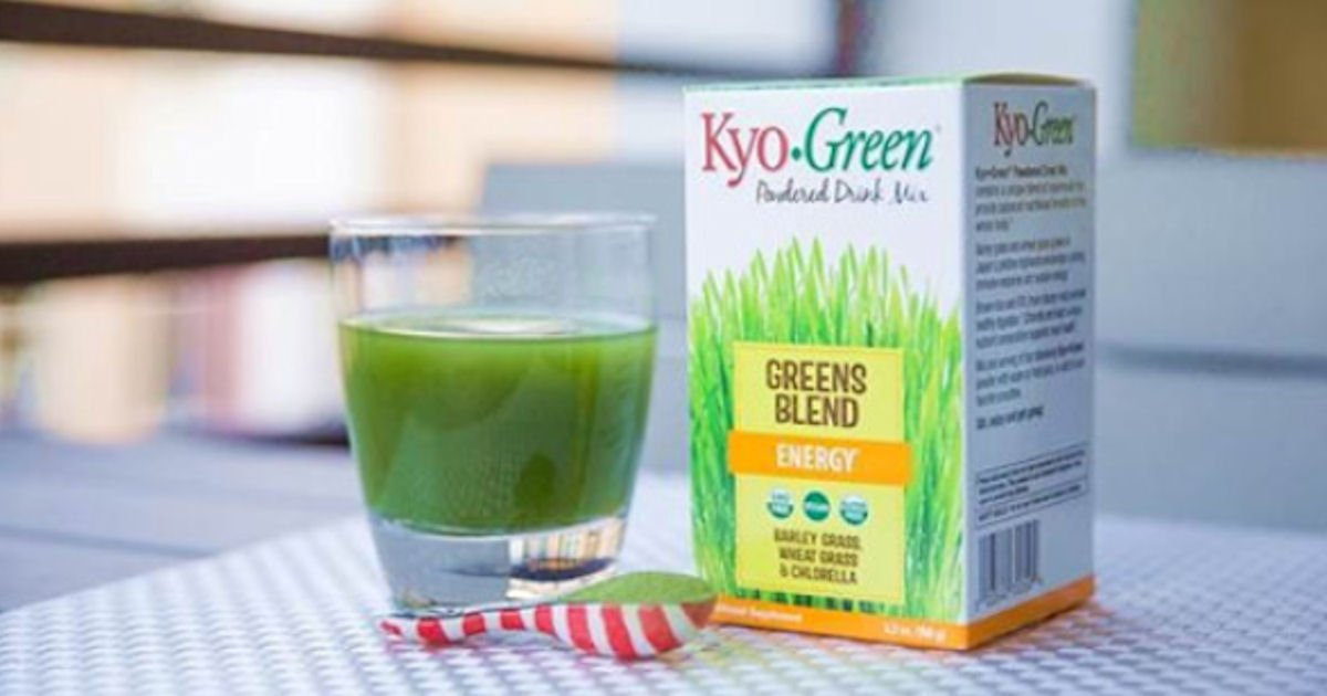 Free Sample of Kyo-Green Single-Serve Packets