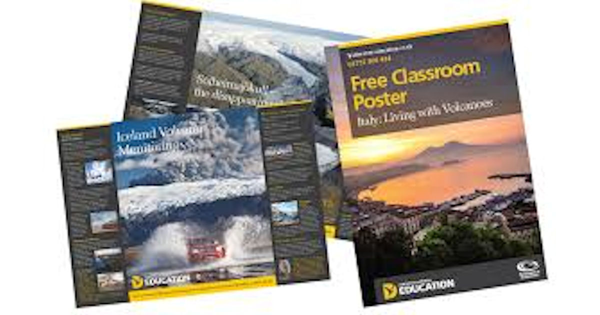 Free Discover the World Classroom Posters