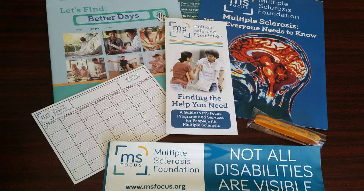 Free MS Education Awareness Kit & Bracelets