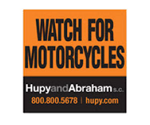 Get a Free Watch for Motorcycles Window Cling