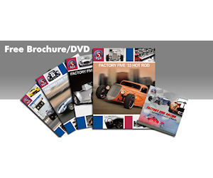 Order a Free Factory Five Automotive DVD