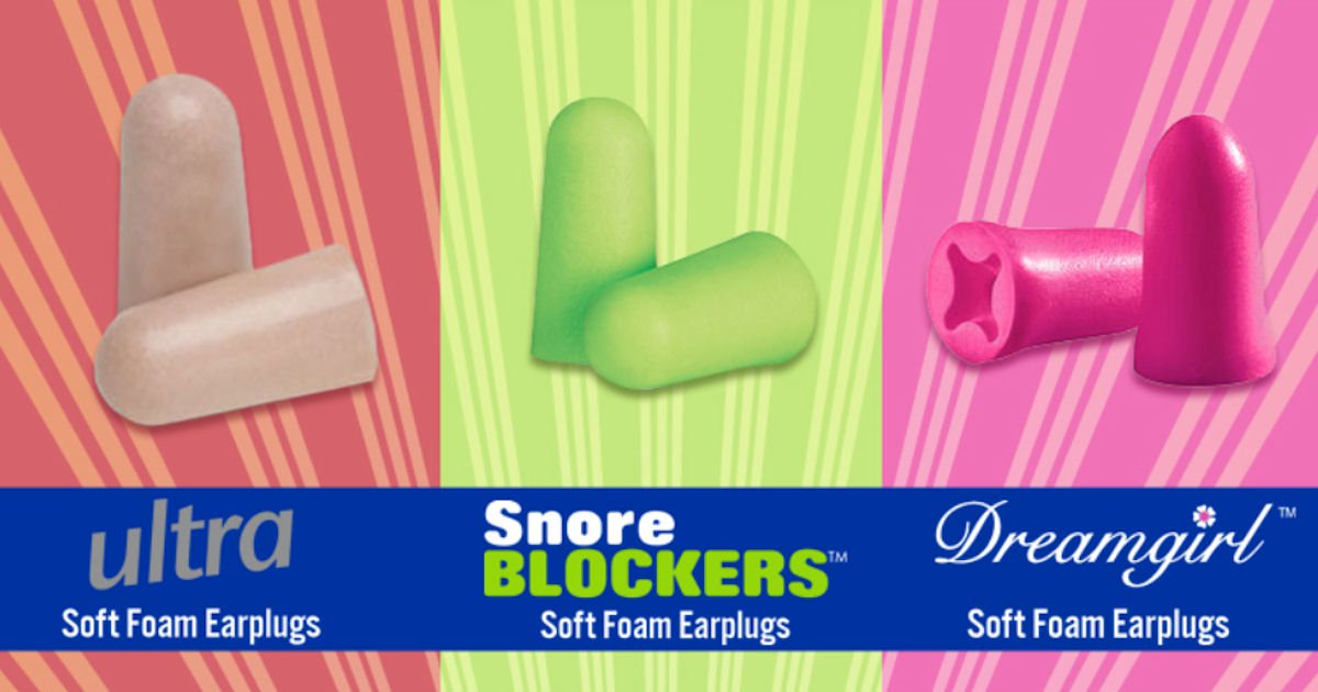 Free Pair of Mack's Ear Plugs - Every Weekday