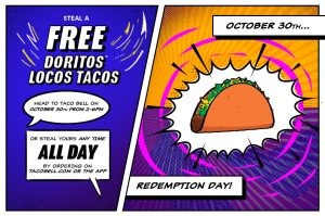 Free Doritos Locos Taco at Taco Bell Oct. 30th