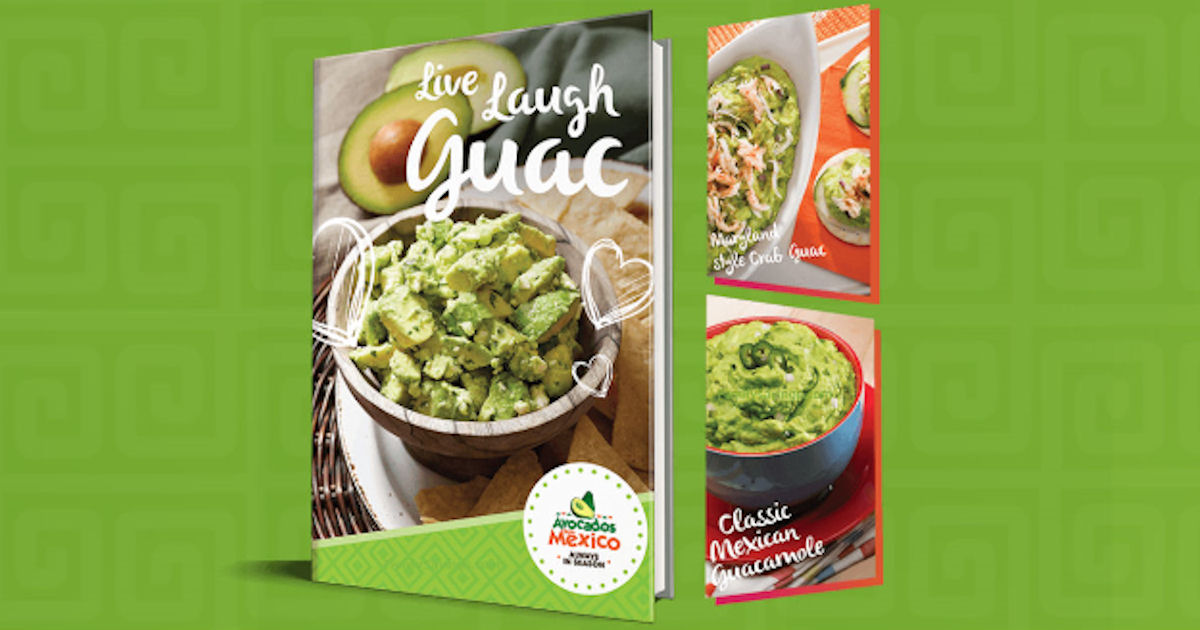 Free Avocados from Mexico Recipe eBook