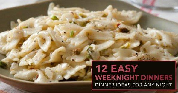 FREE12 Easy Weeknight DinnerseCookbook