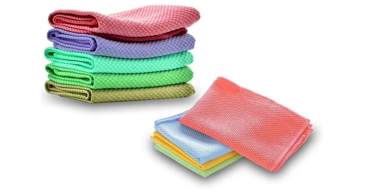 Free Magic Wipes Microfiber Cleaning Cloths