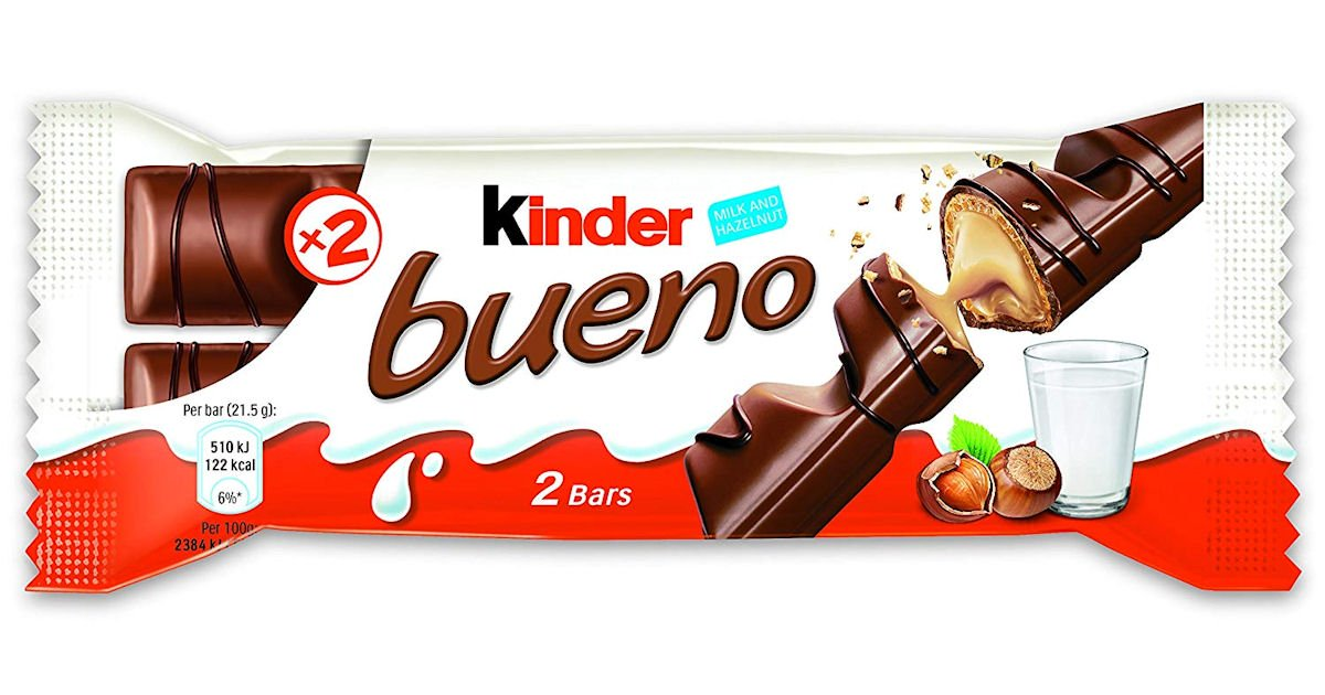 Free Kinder Bueno Chocolate - Select Areas