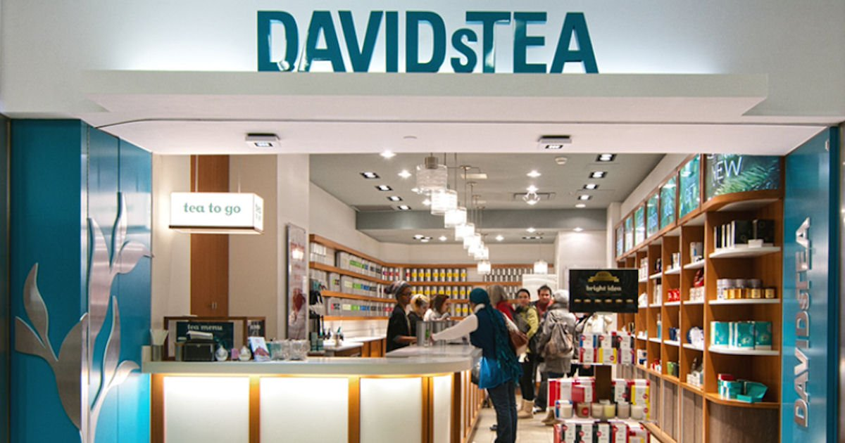 Free Tea at DAVIDsTEA