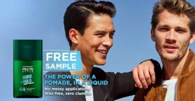 free Liquid Style Pomade sample from Garnier