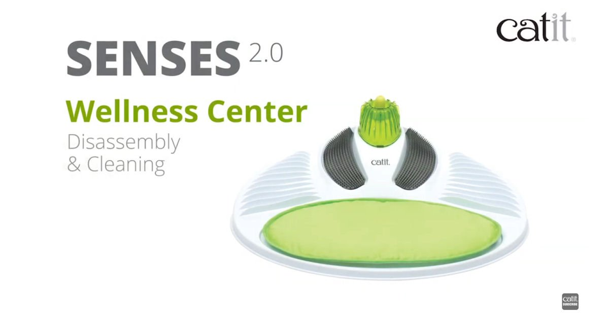 Free Catit Senses 2.0 Wellness Center