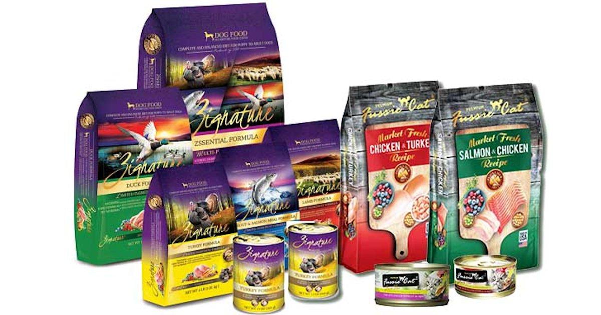 Free Sample of Zignature Dog Food, Coupon & Goodie Bag